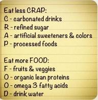 eat less crap